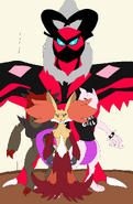 Must, MewFour, Zoroark and Lugiatwo
