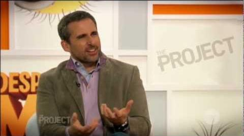 Steve Carell & Kristen Wiig interview on The Project - Despicable Me 2 (2013)