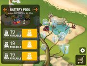 Battery pool