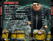 Despicable me back cover
