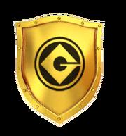 Minion Rush Golden Shield