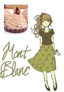 mont blanc dessert anime wiki fandom powered by wikia