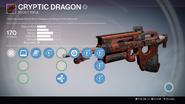 TTK Cryptic Dragon Overlay