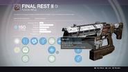 TTK Final Rest II Overlay