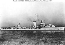 USS Benham DD-397