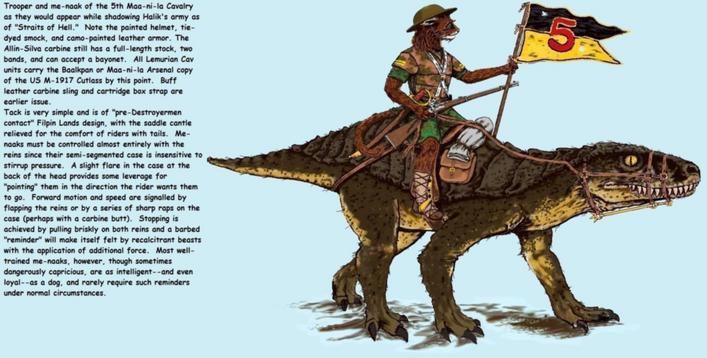 Fifth Maa-ni-la Calavry Trooper by Taylor Anderson
