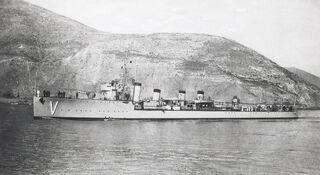 Alsedo Class Destructor Velasco (V)