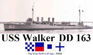 USS Walker DD 163