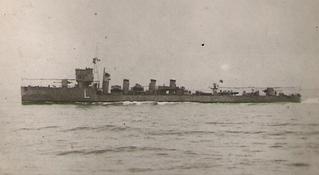 Spanish Alsedo class destroyer