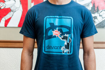 Deviant Bark T-Shirt -- Navy