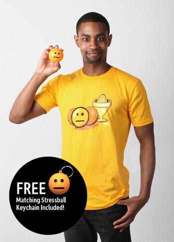 Blank Face Emoticon T-Shirt