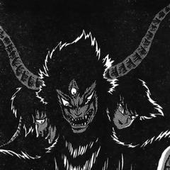 Devilman Zennon in a flashback