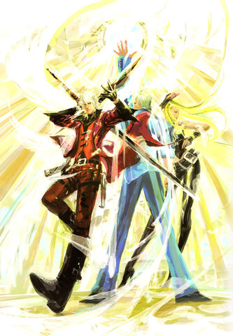 File:DMC Graphic Edition Dante Vergil Trish.jpg