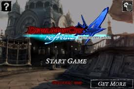 Dmc4refrain - menu