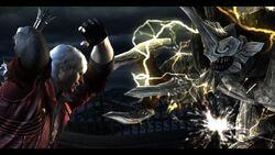 Dante lunges the Blitz