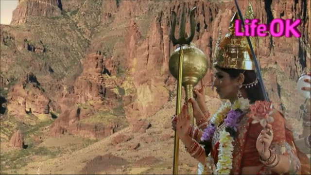 File:Eight-Armed Goddess Durga Ready To Destroy Raktabeej.png