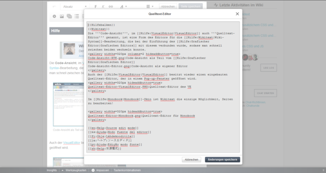 Datei:Quelltext-Editor-VisualEditor.PNG