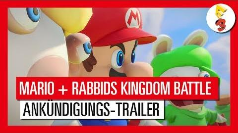 Mario Rabbids Kingdom Battle - E3 2017 Ankündigungs-Trailer Ubisoft DE