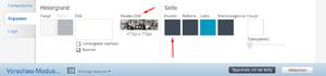 Theme-Designer Header-Anpassung 2