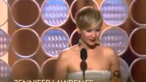 Jennifer Lawrence Acceptance Speech