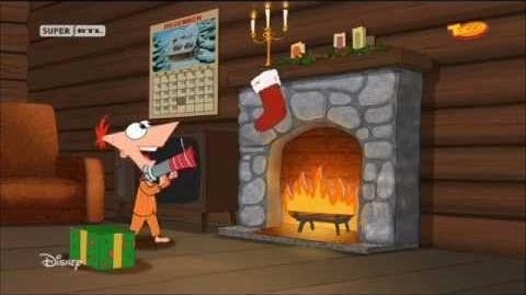 Disney Phineas und Ferb Wir wünschen euch frohe Weihnacht