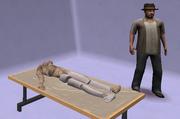 Motel victim