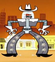 Dexter's Cowboy Robot
