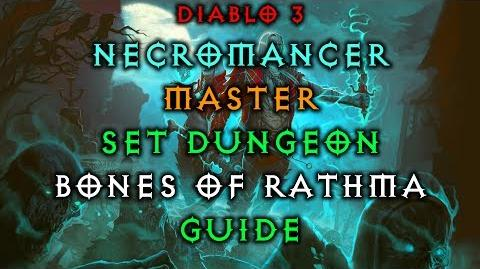 Diablo 3 Necromancer Bones of Rathma Set Dungeon How to Master Guide Live Patch 2.6