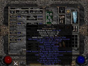 Diablo  Craft Ral Rune