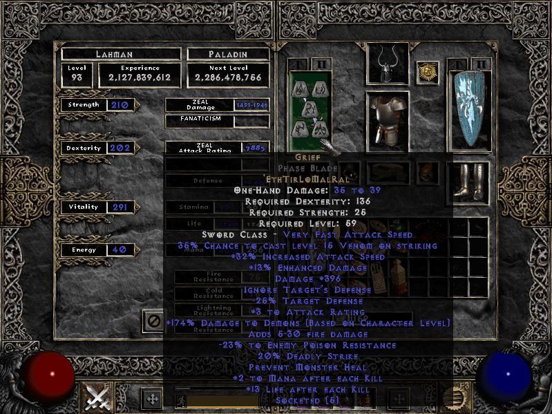 Death S Oath Build
