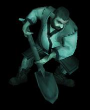 Ghastly gravedigger