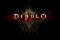 Diablo III demon splash logo