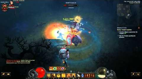 Diablo 3 PTR 2.2.0 new bounty Templar Inquisition