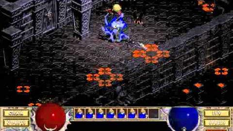 Diablo 1 Hellfire spells Staff of mana (by Blessed)