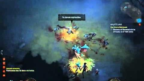 Diablo 3 Parte 3 Monje Español DE CAMINO A BUSCAR LA CORONA