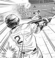 Miyuki hits off Hongou
