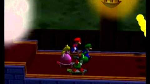 Mario Party 2 4 Player Minigame - Skateboard Scamper