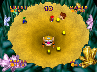 Mario Party 2 Quicksand Cache