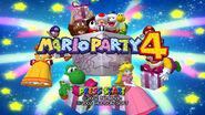 Mario party 4 start screen