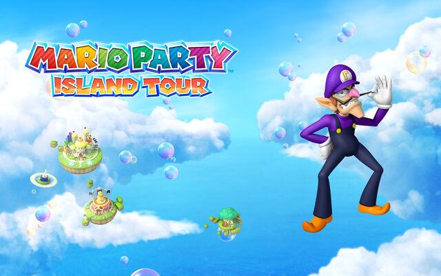File:Mario Party Island Tour 1280x800 Waluigi.jpg