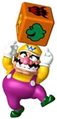 Wario with a Chance Block
