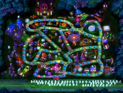 Horror Land map (nighttime)