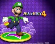 Mario Party 4 Luigi