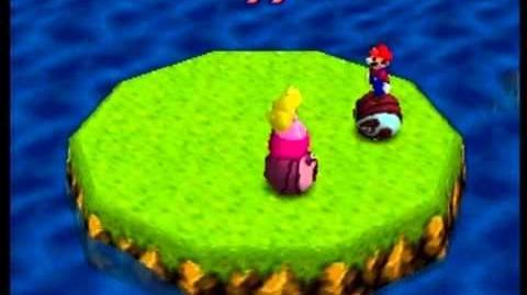 Mario Party- 4 Player Minigame - Bumper Balls