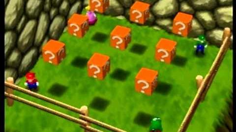 Mario Party- 4 Player Minigame - Coin Block Blitz