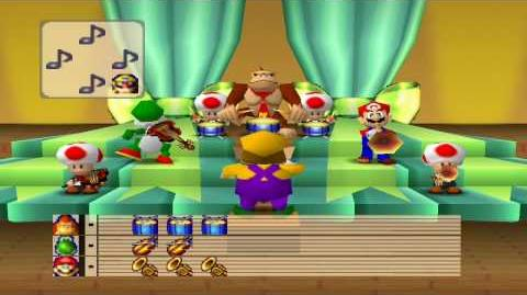 Mario Party 1 Mini Games - Mario Bandstand 1