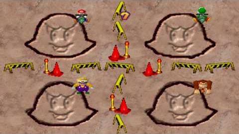 Mario Party 1 Mini Games - Crazy Cutter Boo