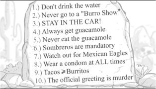 Rules of Mexico