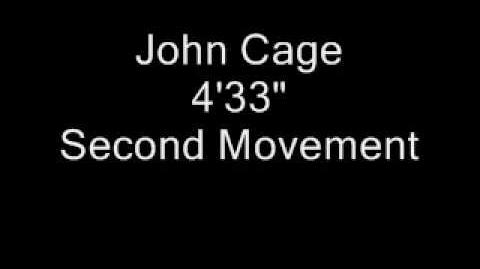 "4'33"" by John Cage"