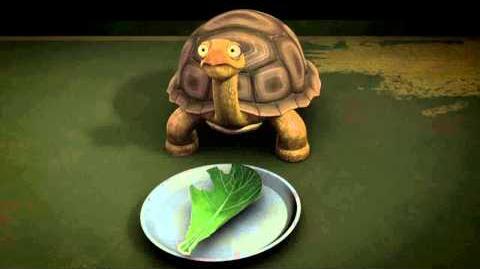 TMNT Raphael Talks To His Pet Turtle (Spike)-0